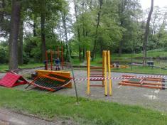 Oprava dětského hřiště